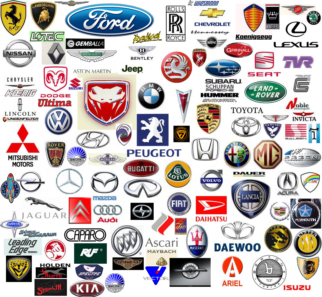 Exotic Car Logo - List of Car Logos: A-Z Collection of Car Logos & Manufacturers by ...