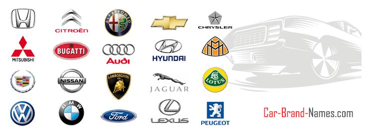 List Of Car Brands >> Most Popular Car Brand Logo Logodix