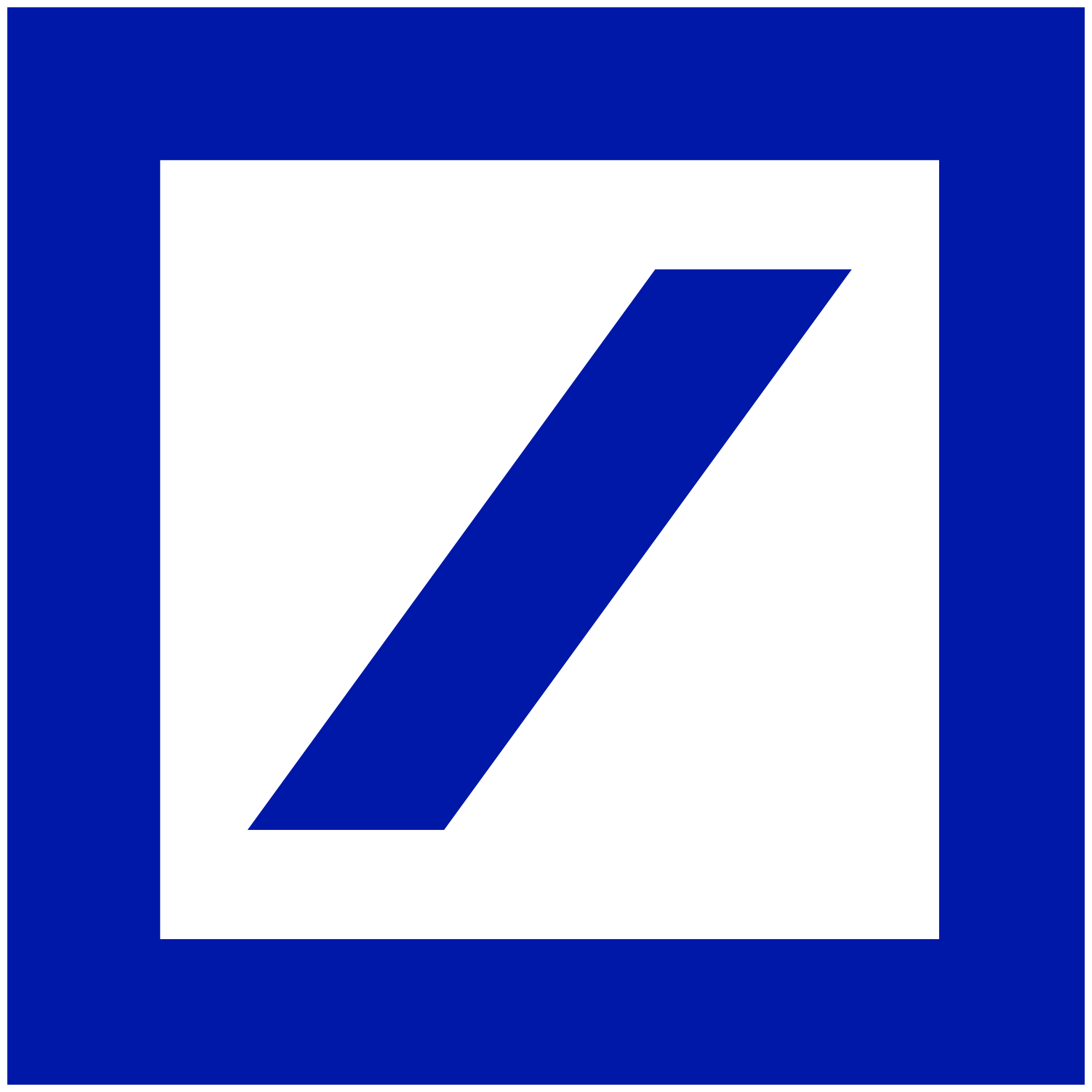 Deutsche Bank Logo - File:Deutsche Bank logo without wordmark.svg - Wikimedia Commons