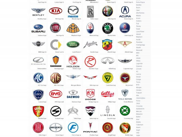 Exotic Car Logo - CSS Garden - Car Logos