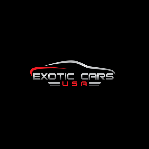 Exotic Car Logo - EXOTIC CARS USA | Logo design contest