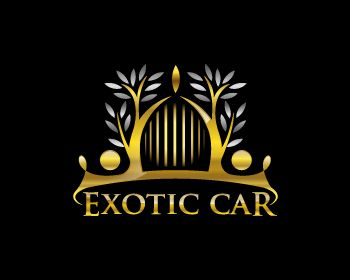 Exotic Car Logo - Logo design entry number 29 by Apple | Exotic Car logo contest
