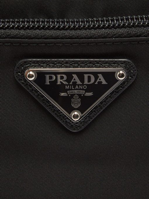 Prada Logo - Logo nylon wash bag | Prada | MATCHESFASHION.COM US