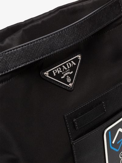 Prada Logo - Prada logo messenger bag | Browns