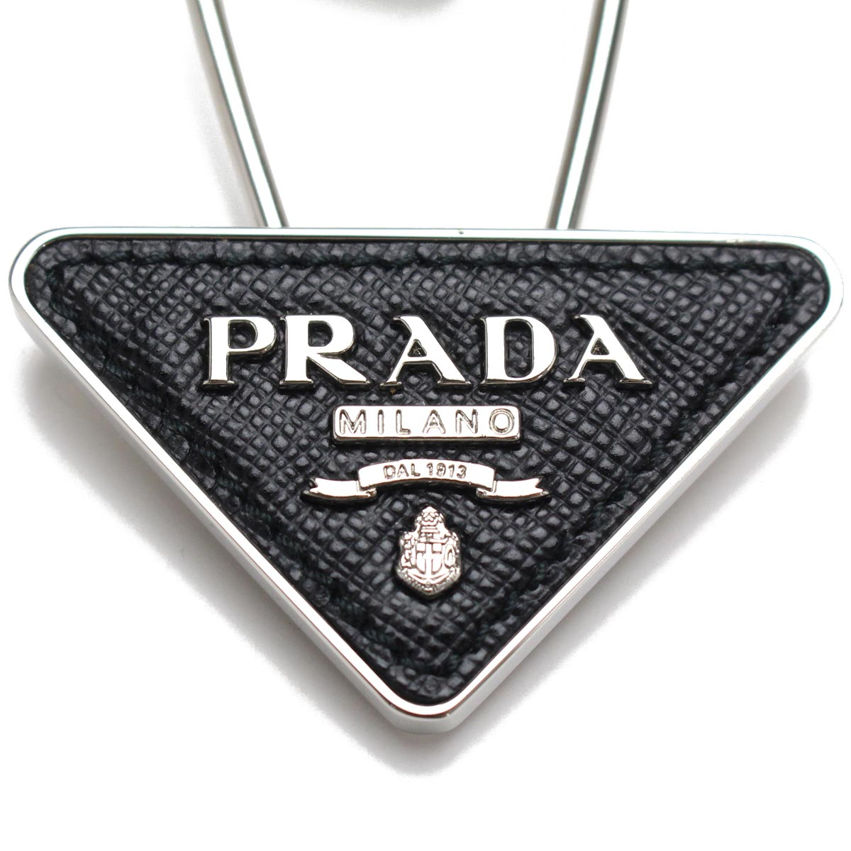 Prada Logo - Bighit The total brand wholesale: Prada (PRADA) triangle logo plate ...