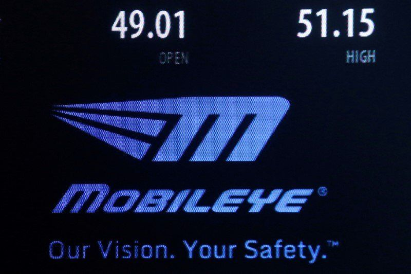 Mobileye Logo - Intel's Mobileye is taking its ready-to-go self-driving technology ...