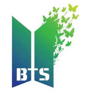 BTS Logo - Pillow Case-BTS Logo Butterfly - GET BOX TODAY