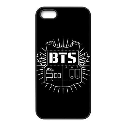 BTS Logo - Kpop Phone Case For Iphone 5S Bangtan Boys BTS Logo Design: Amazon ...