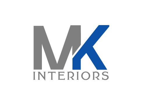 MK Logo - Playful, Colorful, Residential Logo Design for MK Interiors by Borun ...