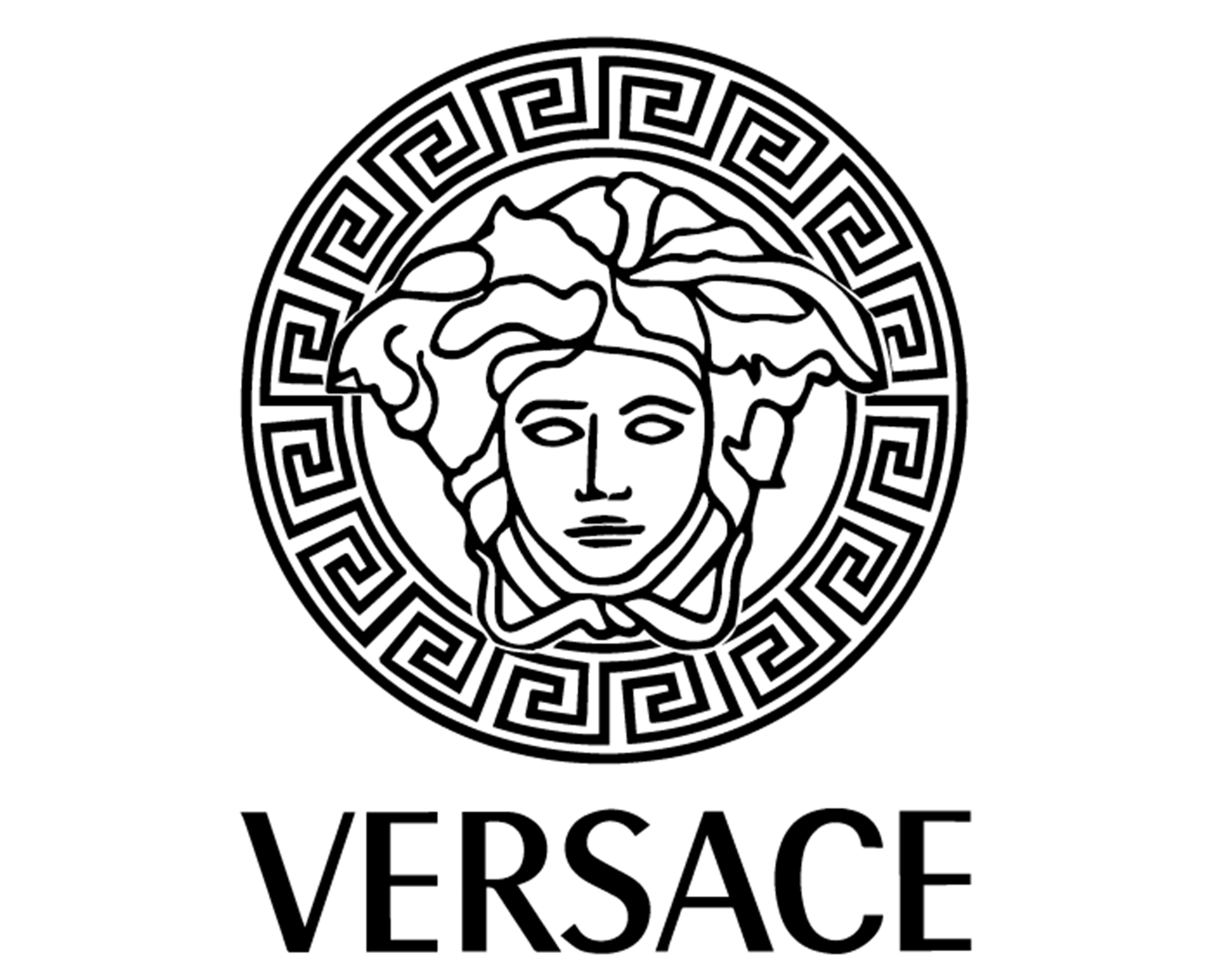 Versace Logo - VERSACE LOGO PAINTING STENCIL SIZE PACK *HIGH QUALITY* – ONE15