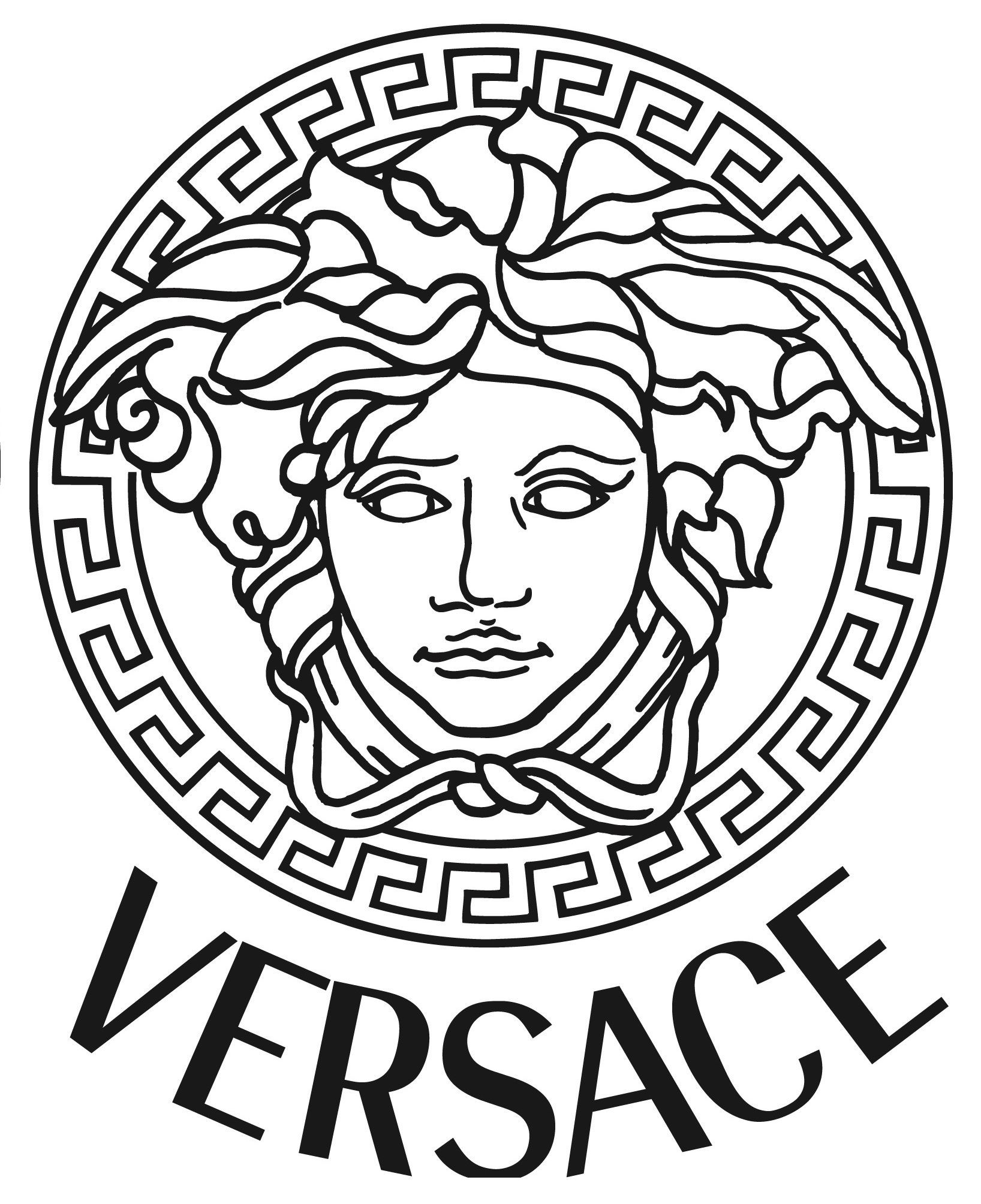 Versace Logo - Versace Medusa Gold Vinyl Sticker Decal *3 sizes* Bumper Wall Laptop ...