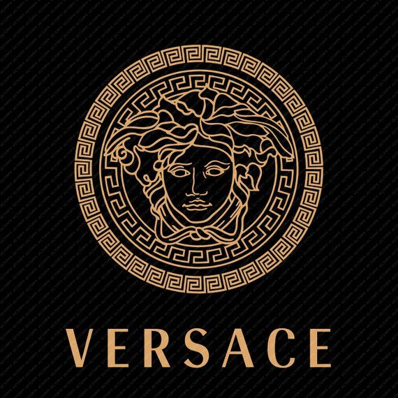 Versace Logo - Versace Logo Instant Digital Download Versace Wall Art | Etsy