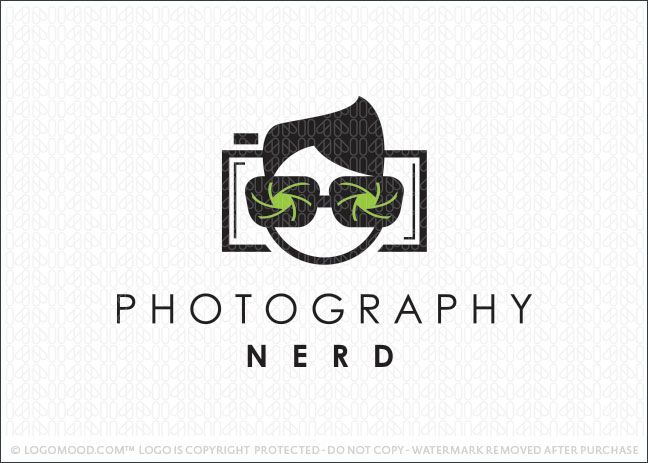 Photography Watermark Logo - Readymade Logos for Sale Photography Nerd | Readymade Logos for Sale