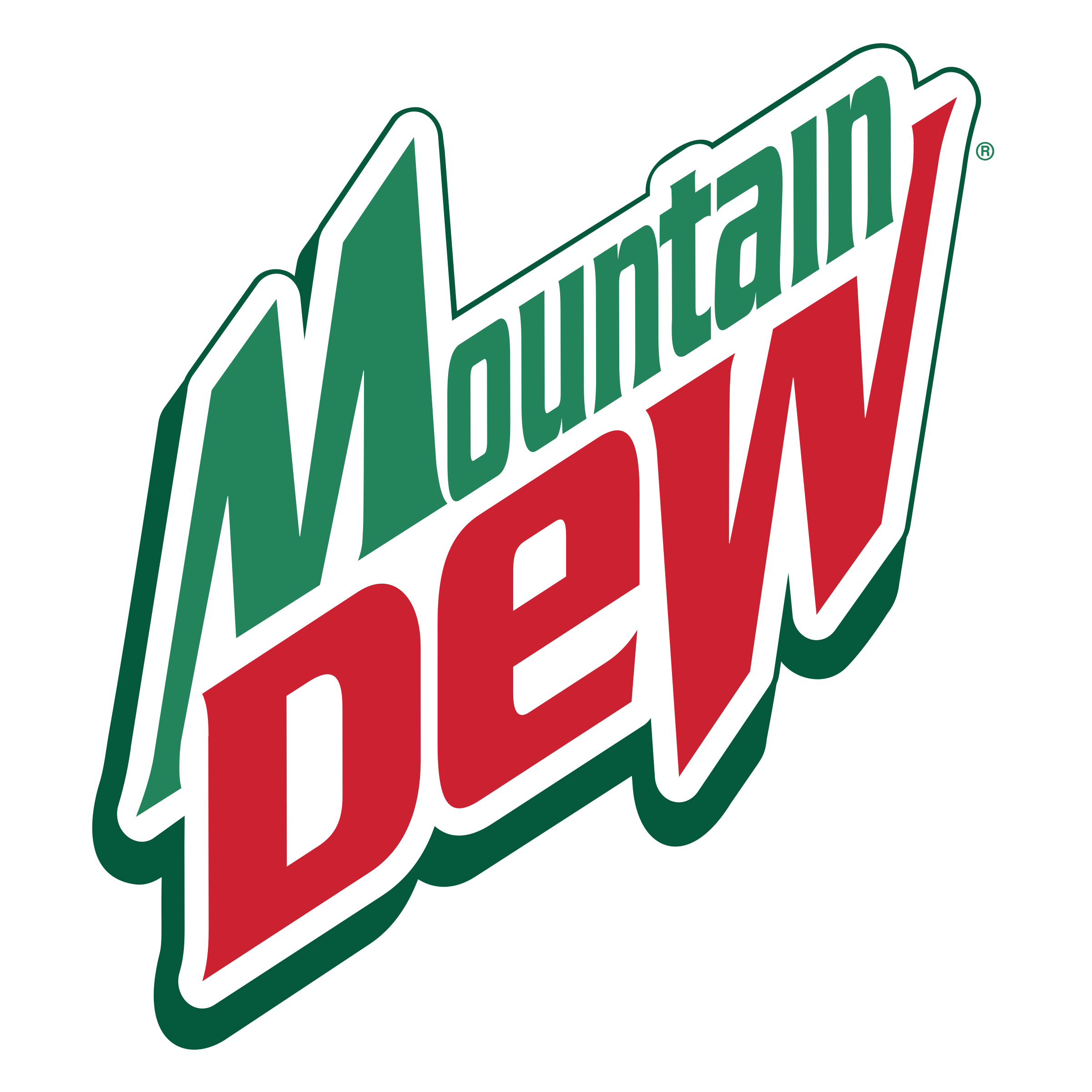 Mountain Dew Logo - Mountain Dew Logo PNG Transparent & SVG Vector - Freebie Supply
