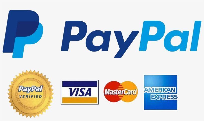Paypal Verified Visa Mastercard Logo Logodix