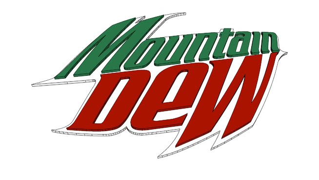 Mountain Dew Logo - MOUNTAIN DEW LOGO 3D | 3D Warehouse
