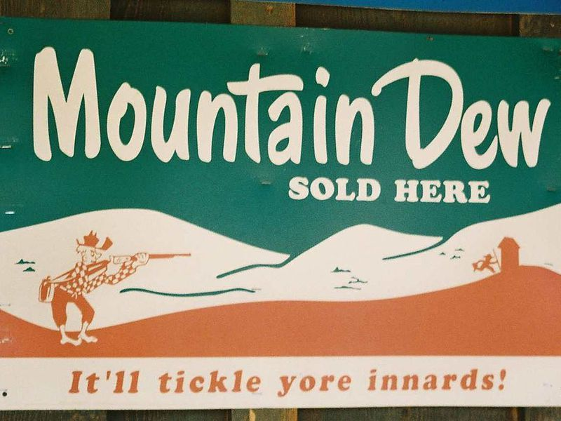 Mountain Dew Logo - Mountain Dew Once Had Ties to Moonshine | Smart News | Smithsonian