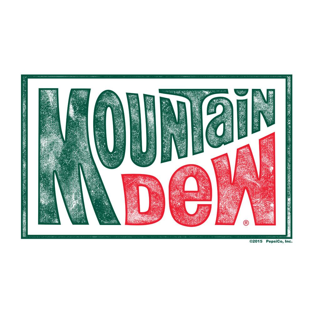 Mountain Dew Logo - Mountain Dew Retro Logo – Tee Luv
