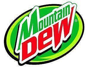 Mountain Dew Logo - Mountain Dew | eBay