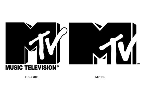 MTV Logo - MTV logo changes, stays same – Creative Review