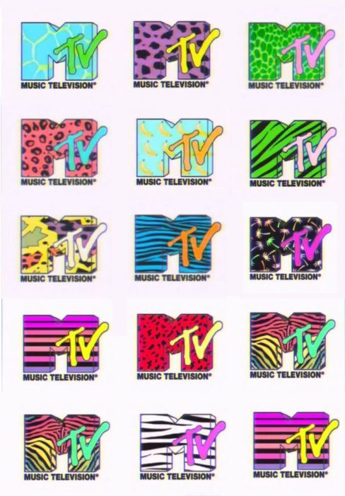 MTV Logo - MTV Logo, one of the best graphic design platforms ever. | Art | MTV ...
