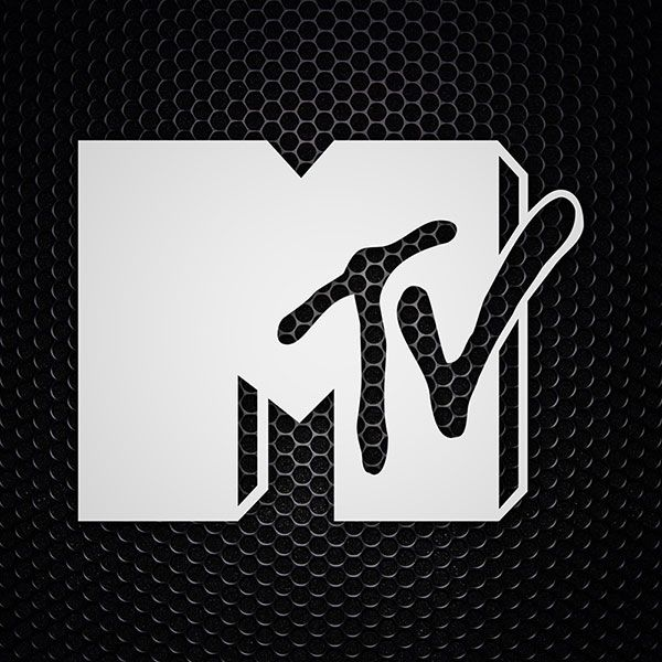 MTV Logo - Sticker MTV Logo | MuralDecal.com