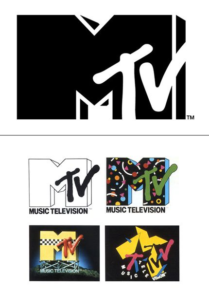 MTV Logo - MTV Logo - Design and History of MTV Logo
