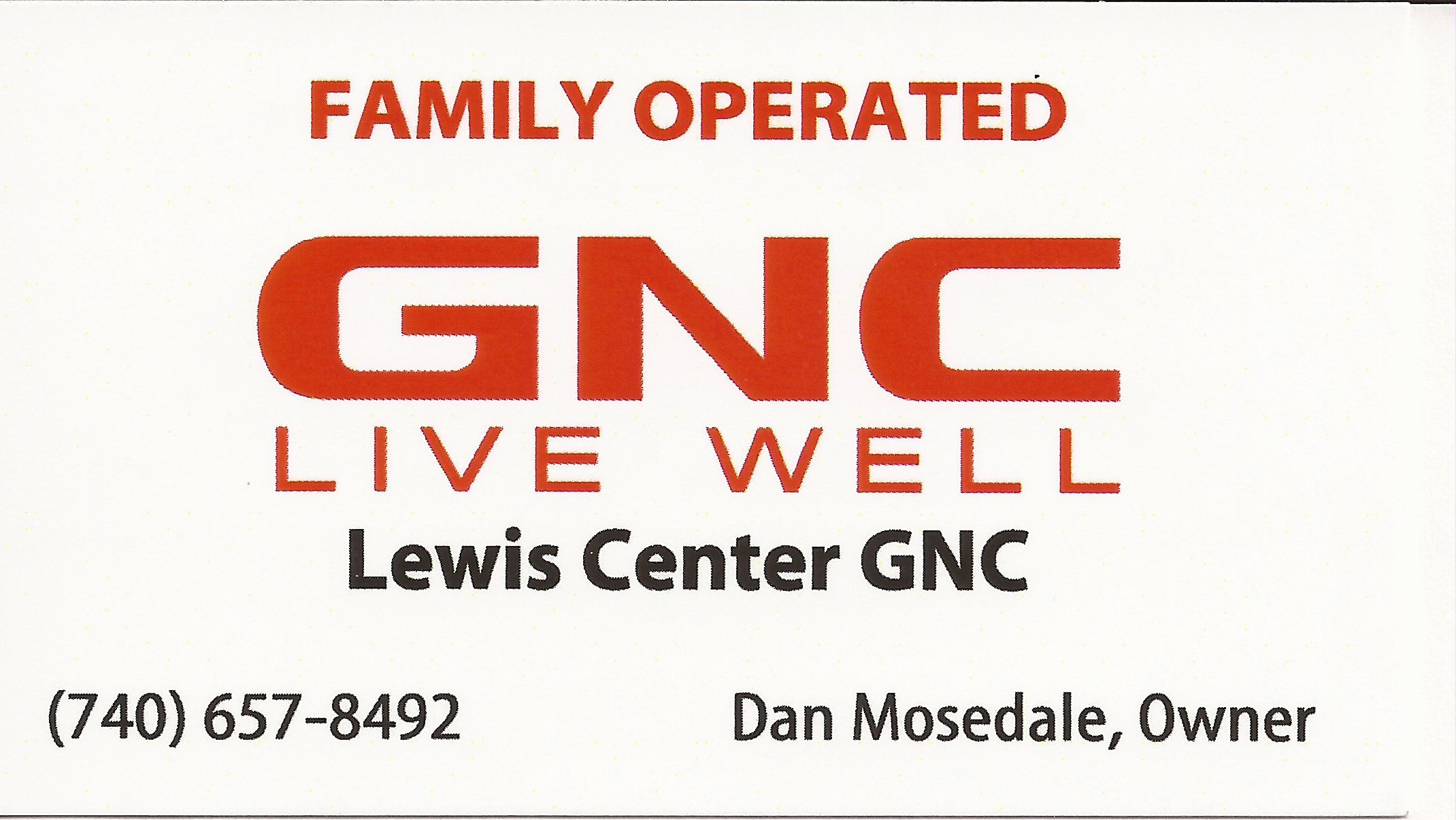 GNC Logo - GNC logo | Run Olentangy Orange