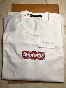 Louis Vuitton Supreme Shirts Logo Loix