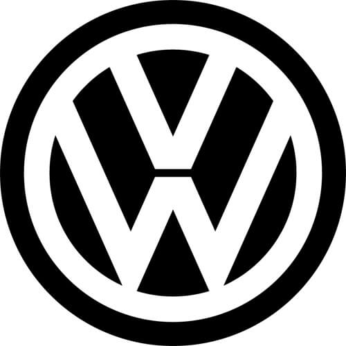 Volkswagen Logo - Volkswagen Decal Sticker - VOLKSWAGEN-LOGO-DECAL | Thriftysigns