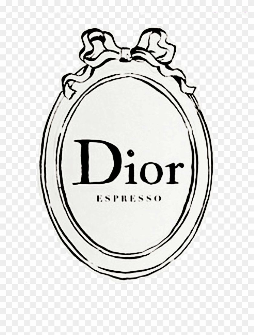 Dior Logo - Coffee Cup Drawing Tumblr Download - Dior Espresso Logo - Free ...