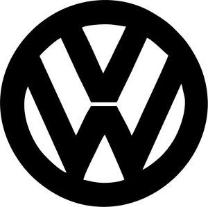 Volkswagen Logo - Volkswagen Logo - VW - Vinyl Sticker Decal - VW GM Chev Ford Honda ...