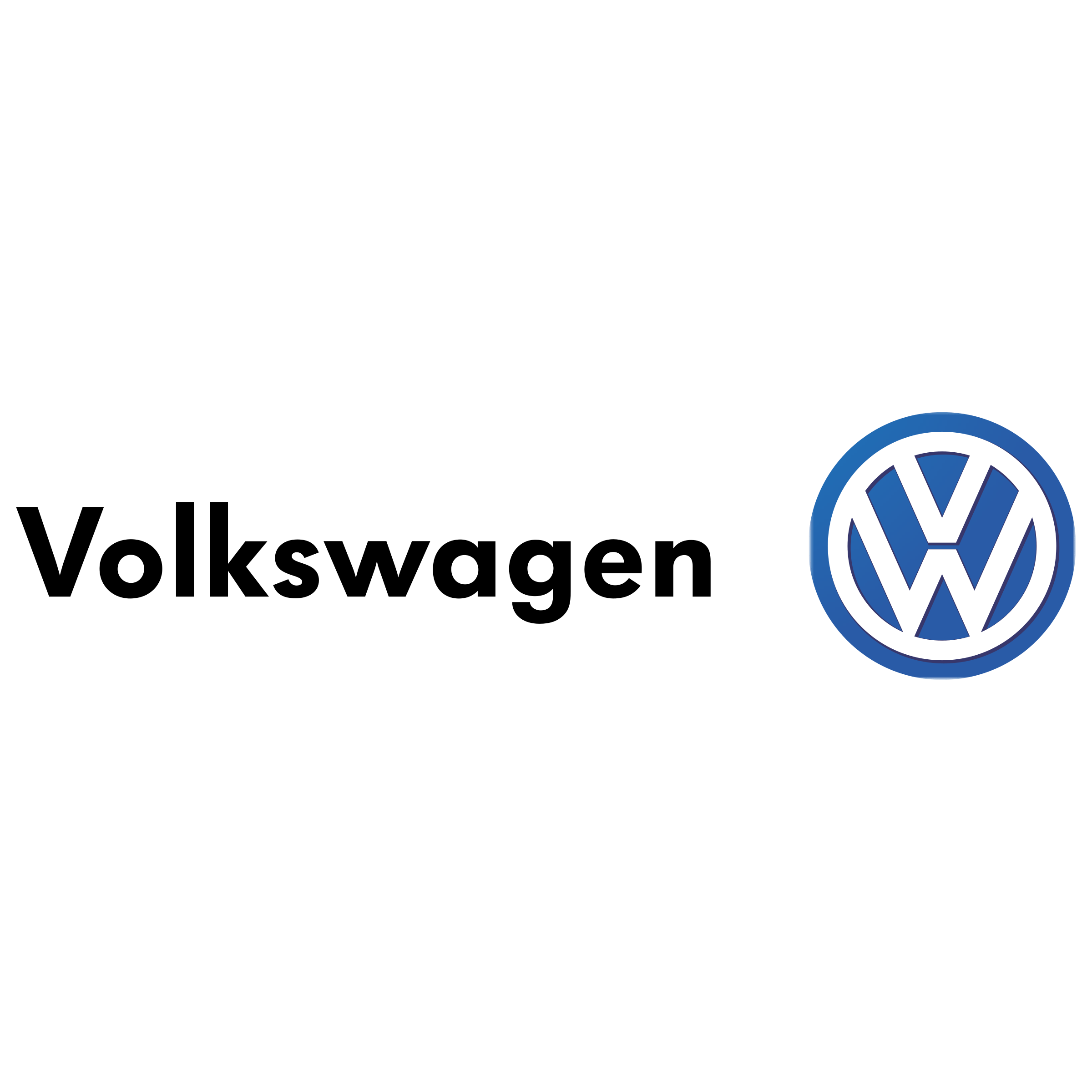 Volkswagen Logo - Volkswagen Logo PNG Transparent & SVG Vector - Freebie Supply