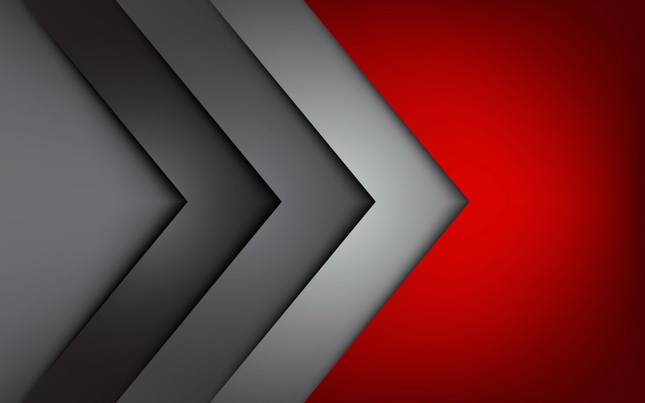 Abstract Red Gray Logo Logodix