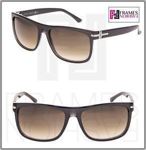 37193d0c0 Gucci Translucent Logo - GUCCI Square GG1027S Translucent Grey Brown  Gradient Sunglasses 1027 .