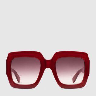 44c982e36 Gucci Translucent Logo - Gucci Women - Women's Eyewear