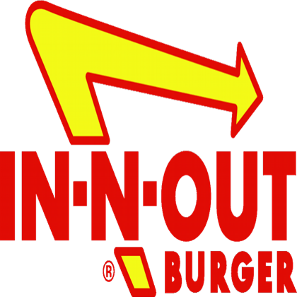 In-N-Out Burger Logo - In-N-Out Burger Logo (Transparent) - Roblox