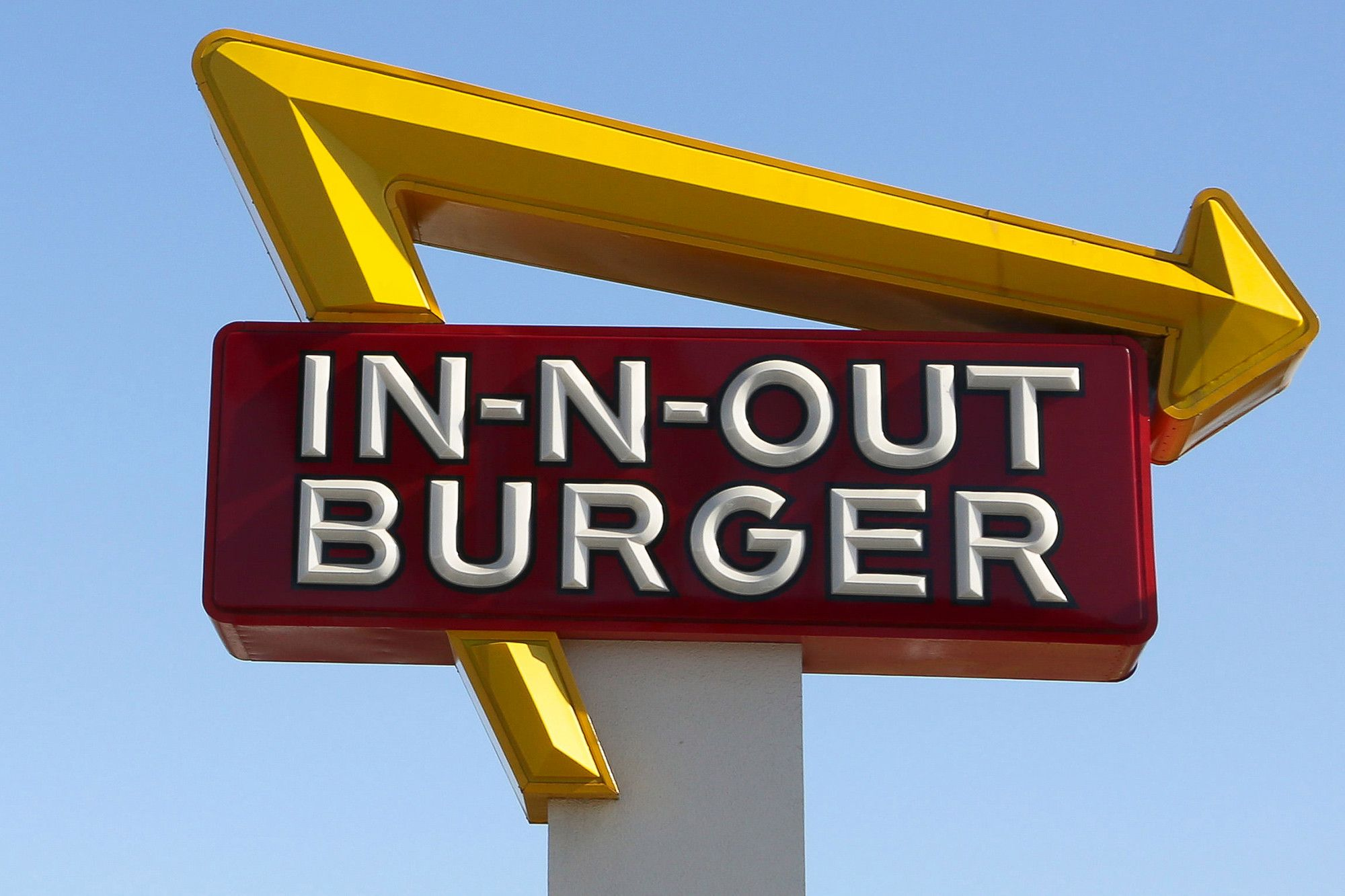 In-N-Out Burger Logo - In-N-Out adds first new item to menu in more than a decade