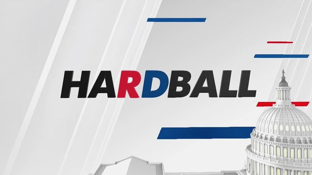 MSNBC Logo - MSNBC's 'Hardball' brings the focus back to Matthews with new design ...