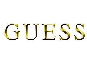 Guess Logo - GOLD-GUESS-LOGO – Word In Town