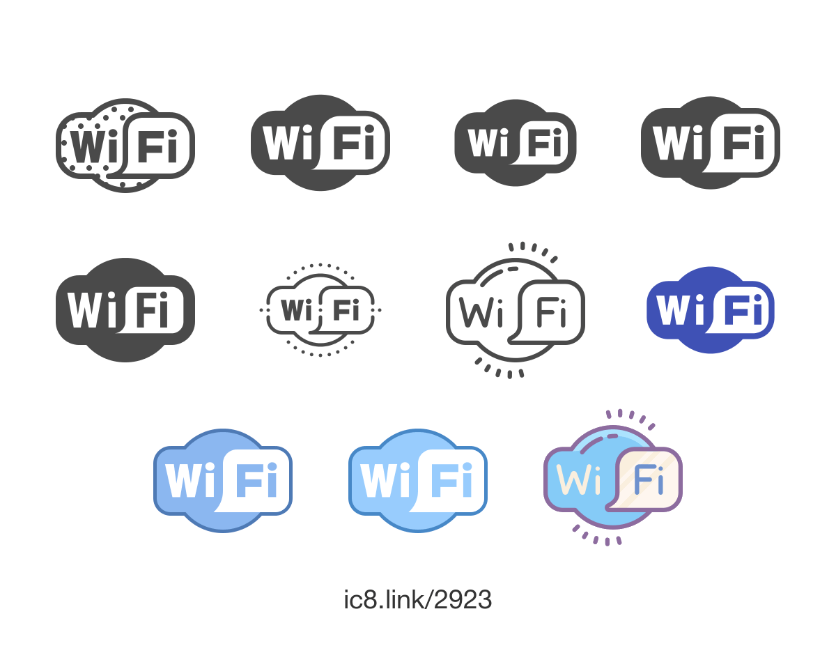 Wifi Logo - Wi-Fi Logo Icon - free download, PNG and vector