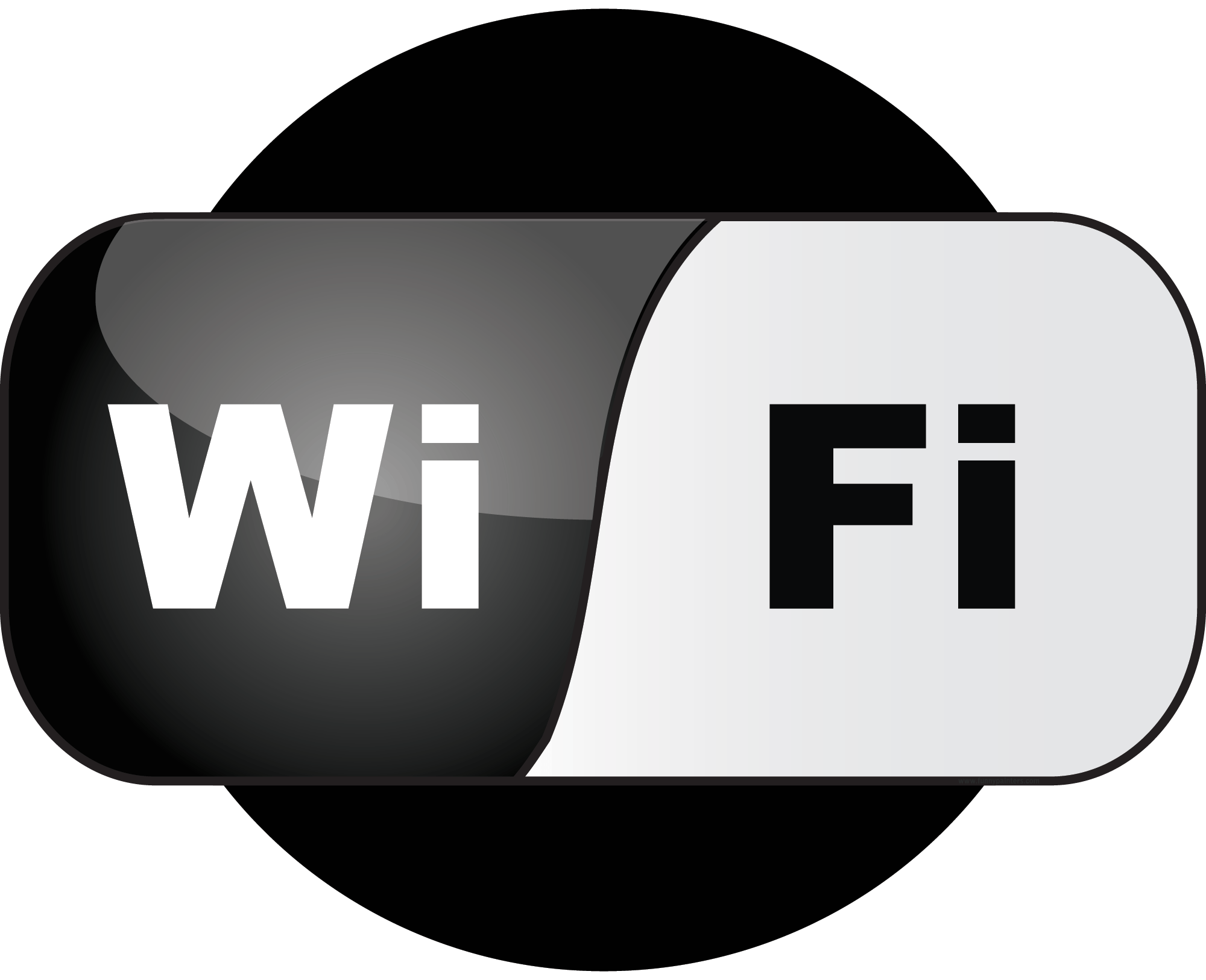 Wifi Logo - Wifi Icon PNG Image - PurePNG | Free transparent CC0 PNG Image Library
