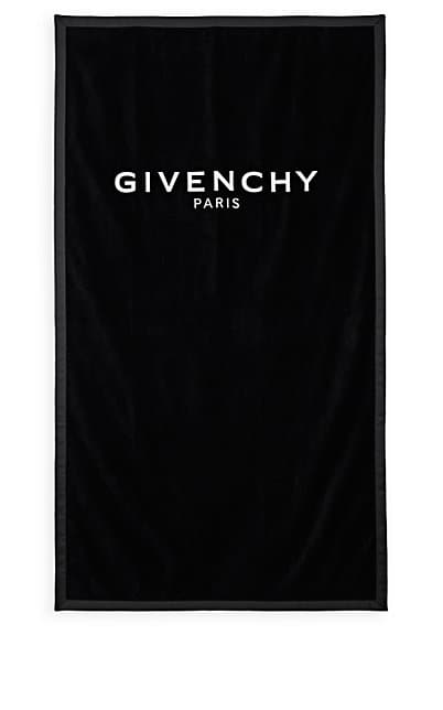 Givenchy Logo - Givenchy Logo-Embroidered Cotton Beach Towel | Barneys New York