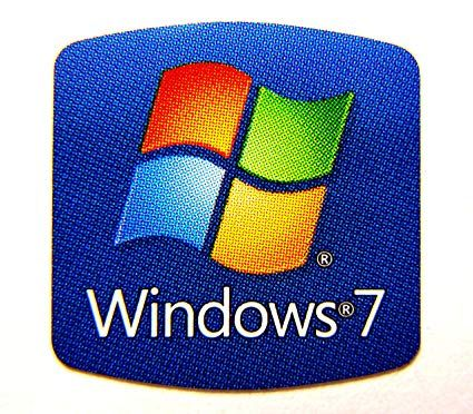 Windows 7 Logo - Amazon.com: Windows 7 Sticker Decal Logo Badge Replacement for ...