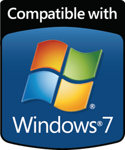 Windows 7 Logo - Compatible with Windows 7 Logo Vector (.AI) Free Download