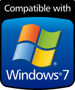 Windows 7 Logo - WINDOWS 7 COMPATIBLE Logo Vector (.CDR) Free Download