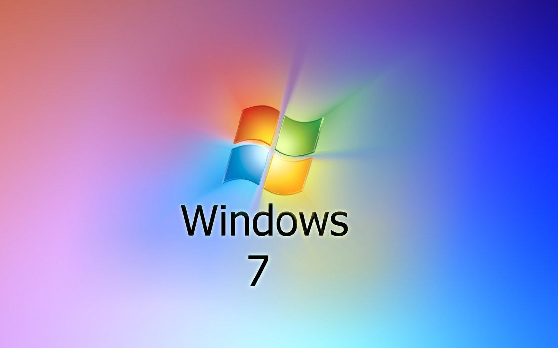 Windows 7 Logo - Windows 7 logo, reflected colors from the logo