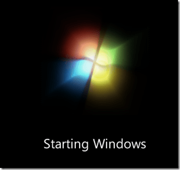 Windows 7 Logo - The Case Of The Missing Windows 7 Boot Logo – Andy's Techie Blog
