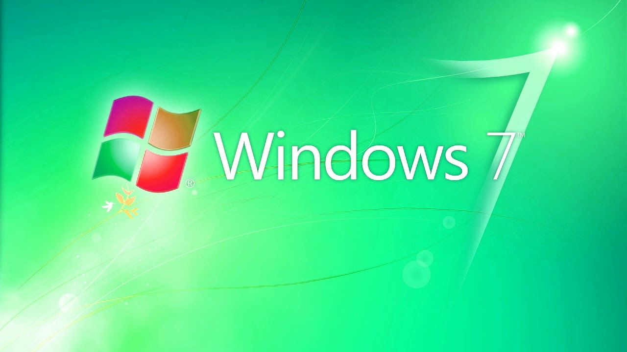 Windows 7 Logo - Windows 7 Animation Logo History (2002-2016) in Luig Group Effect ...