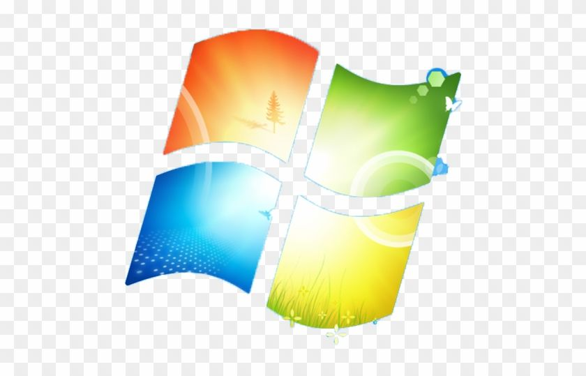 Windows 7 Logo - Windows 7 Logo/flag - Windows 7 - Free Transparent PNG Clipart ...